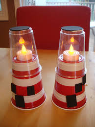 solo cup lighthouse google search table crafts pinterest