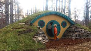 the construction of a hobbit hole make arafen