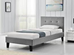 fabric upholstered beds uk bed store