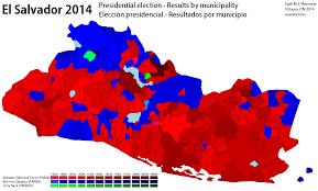 2014 Election Map by El Salvador World Elections