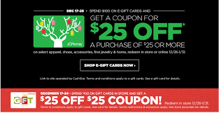 jcpenny free 25 with 100 gift card stack with amex 20 off