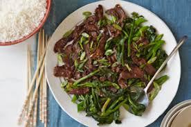 cuisiner chinois liste recette sauté au bœuf et au brocoli chinois rapide à cuisiner