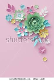 Paper Flower Paper Flower Stock Images Royalty Free Images U0026 Vectors