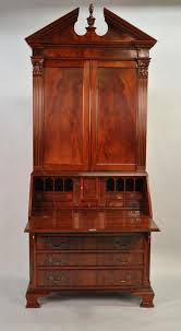 tall secretary desk with hutch furniture photo of tall antique drop front secretary desk antique