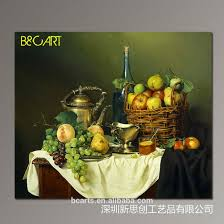 Dining Room Paintings by In Door Wall Decoration Still Life Fruit Canvas Oil Painting Buy