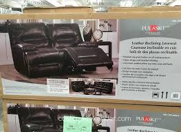 pulaski leather sofa costco costco leather reclining sofa nrhcares com