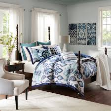 bedding beach themed soft blue paint wall color nautical bedroom