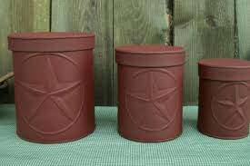 23 rustic barn kitchen canisters farmhouse kitchen canister sets