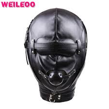 leather mask leather mask mask with open