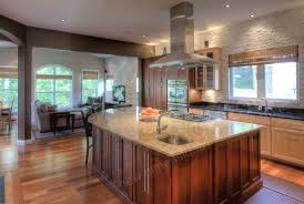 interior decoration kitchen unique stacked stone backsplash