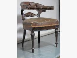 fauteuil de bureau toulouse enchères fauteuil de bureau napoléon iii garniture cuir dossier