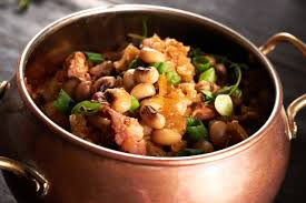luck money foods for new year s day blackeye peas greens and