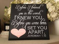 christian baby shower christian baby shower ideas jeremiah 1 5 before i formed you i