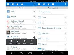 dropbox app for android dropbox app for android and ios updated with visual tweaks easy