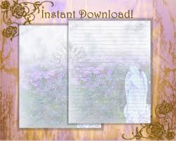 writing stationery paper garden stationery angel stationery angel paper angel statue this is a digital file