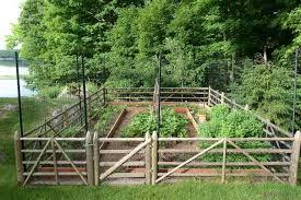 vegetable garden deer fence houzz