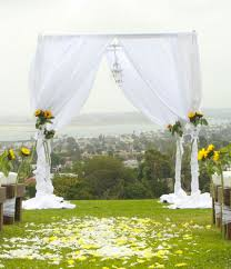 Chiffon Drape Pipe And Drape Chuppah White Chiffon Curtains Platinum Event