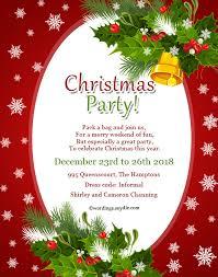 christmas dinner invitation wording invitation card for christmas party u2013 fun for christmas