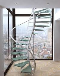 General Unique Spiral Staircase Design Inspiration With Stainless