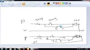 dol starter diagram theory youtube