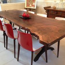 Red Dining Room Table Wood Slab Dining Table Choosing Guidelines