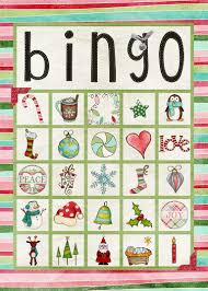 11 free printable christmas bingo games for the family