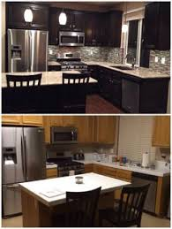 Can You Stain Kitchen Cabinets Darker How To Refinish Your Kitchen Cabinets Kitchens House And Apartments