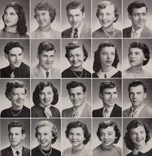 high school yearbooks 1952 hair in the provi yearbook of proviso east high school in
