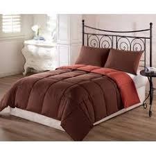 Rust Comforter Set Chezmoi Collection Comforters Sears