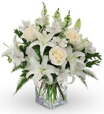 casablanca lilies 12 white roses casablanca lilies snapdragons flower delivery
