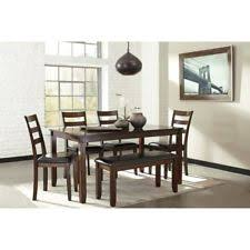 ashley furniture dining table set ashley furniture dining sets with 6 pieces ebay
