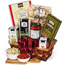 italian gifts table in tuscany italian gift basket gourmet