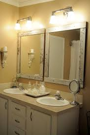Frame Bathroom Mirror Large Wood Framed Bathroom Mirrors Frame Bathroom
