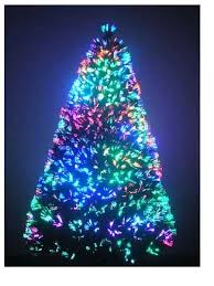 purple fibre optic tree princess decor