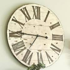 oversized clocks oversized white wall clock cuca me