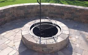 Patio Firepit Installing Outdoor Pits