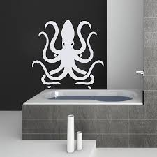 Octopus Home Decor Octopus Wall Art Interesting Octopus Wall Art Shades Of Blue With