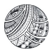 polynesia clipart circle pencil and in color polynesia clipart