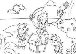 downloads coloring jake neverland pirates coloring