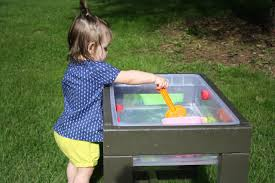 Water Table Toddler Learn How To Build A Toddler U0027s Water Table How Tos Diy