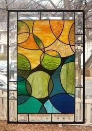 ebay stained glass ls woodland landscape stained glass panel autumn stained glass mosaic