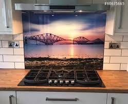 cuisine en verre crédence de cuisine en verre imprimé avec 20 remise nikkel fr