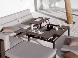 Coffee Table Converts To Dining Table Attractive And Functional Convertible Coffee Table Montserrat