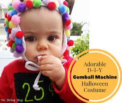 Gumball Costume Halloween Gumball Machine Baby Halloween Costume Cute Diy Baby Costume
