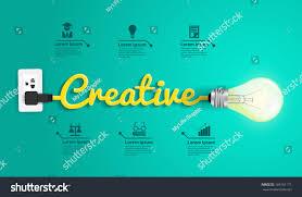 creative concept modern design template light stock vector