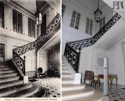 chambre de commerce de reims l escalier d honneur de l hôtel ponsardin actuelle chambre de