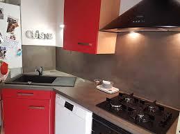 plan travail cuisine beton cire beton cir pour plan de travail cuisine gallery of beton cir cuisine