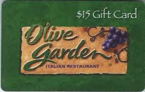 15 gift cards free 15 olive garden gift card works other darden locations