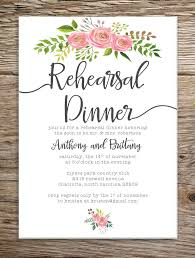rehearsal dinner invite rehearsal dinner invitation template badbrya diy rehearsal dinner