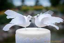 dove cake topper lovey dove cake topper and groom